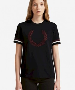Embroidered Laurel Wreath T-Shirt - G5101