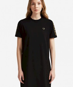 SPORTS AUTHENTIC Taped Ringer T-Shirt Dress - D2117